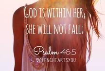 Hope in God.