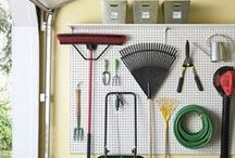 Garage Organization / by Laura at The Turquoise Home
