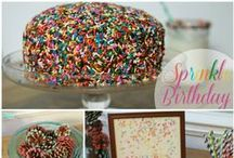 Sprinkle Birthday Party / by Laura at The Turquoise Home