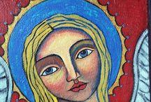 Vírgenes y santos