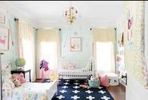 Baby Girl's Woodland Nursery / by Laura at The Turquoise Home