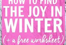 Winter / Useful tips for winter safety, household maintenance, decorating simply and fun things to do in the cold and keeping the kids busy / by Christa Sterken