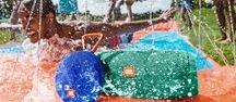 JBL Waterproof Speakers / The JBL Charge 3 and Clip 2 are IPX7 certified waterproof - so you can make waves and take waves!