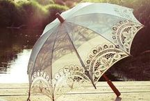 under the umbrella / by Hilde Woll