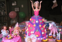 My Birthday Cakes / Cakes I have decorated for our children...