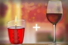 Red Cinnamon Apple and Mulled Wine
