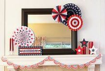 Holidays ~ Patriotic / Memorial Day, 4th of July and all things Patriotic / by Jeanette Sumruld ~ Crafty In Crosby
