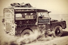Overland- Adventure Car / Land rovers (especially my favorite) land cruisers jeeps and other adventure cars  / by S.P. Bros