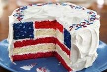 [Extraordinary] 4th of July / Independence Day Celebration Ideas! Food, deserts, and decor.  / by Danielle Smith