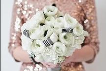 Black, White & Gold Wedding / by One Stylish Bride