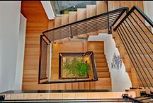 Stairs / Wooden stairs, concrete stairs, floating stairs, steel stairs, spiral stairs...