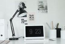 •HOME: desk