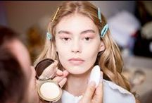 Fall 2015 Fashion Week Beauty Trends / The hair and makeup trends to note from New York, London, Milan, and Paris this season.  / by Vogue Magazine