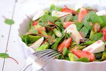•FOOD: salads