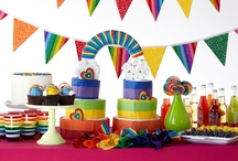 Rainbow / A full spectrum of colors pops in every area of this baby shower theme. / by HUGGIES Baby Shower Planner