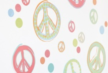 Peace & Love / A groovy retro-inspired baby shower theme with tie-dyes and peace signs encourages everyone to hang loose. / by HUGGIES Baby Shower Planner