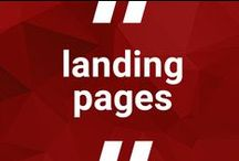 Landing pages / The perfect landing page - does it exist? Many recipies for optimisation and guides to success. Pick one for yourself, implement, then test and optimise :)