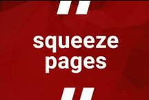 Squeeze pages / When you want users to download valuable stuff for free.