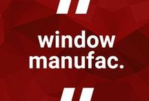 Window manufacturers' websites