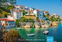 Happening Now / Greek summer is a moment, a promise,a game,is for two, is for you!!!