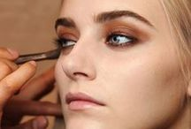 Gorgeous / Elegant and chic makeup, and beauty.