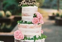 Wedding Cakes / Wedding Cakes and cupcakes. Flowers, glitter, patterns, colors, and pearls to match your wedding theme.