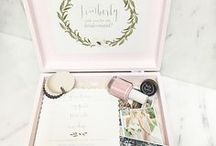 Bridesmaid Gifts / Gifts and ideas to make your bridesmaids feel as special as they make you feel. These are unique and fun ideas to please even your pickiest friend.