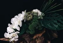 Tessuti fiori / Artisanal floral arrangement