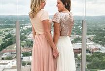 Little White Dress / Little White Dresses to compliment your Big White Dress at rehearsal dinners, bridal showers, bridal luncheons, bachelorette parties and any event in-between. We got your style inspiration for you right here! Be sure to check out our bridal collection for rehearsal skirts, tops, and dresses at shoprevelry.com.
