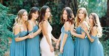 Wedding Colors, Trends, and Inspiration from the experts at Revelry / Get the latest scoop on Wedding trends, hot ombre color stories, emerging design trends, wedding themes, and so much more. We show you how our Bridesmaid dresses and separates fit any wedding from modern and sophisticated, to laid back and boho. We have sequins, tulle, lace, and chiffon for days, and in the perfect hues you have been hunting for.