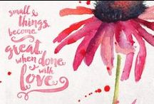 marlaine ♥ life / quotations about the trials and tribulations of life / by little miss bliss