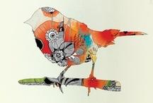 marlaine ♥ birds / birds are my little bodhisattvas / by little miss bliss