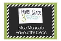 Miss Monica's Favourite Ideas