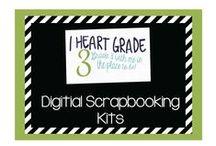 Digital Scrapbooking Kits
