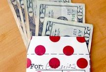 Save Money plan ahead / printables and other helpful ideas / by Robin Klein