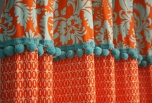 Orange & Turquoise Love / Who doesn't love these bright colors, especially when they are paired together!
