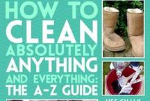 Cleaning / organization  tips / by Robin Klein