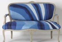 Stylish Settees / A few fun takes on the oh-so-sweet settee!