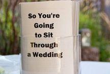 Wedding stuff / by Robin Klein