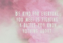 marlaine ♥ kindness / kindness is free / by little miss bliss