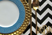 Chevron / A favorite print that can be used all over the home!