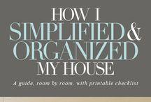 get organized / by Michele VanOrden