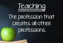Teach / Great teaching ideas ... / by Tori Martinez