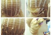 wigs for cosplay / by Robin Klein
