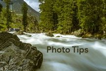Photo Tips / For those interested in how to make captivating photographs during your travels.