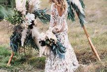 B O H O bride