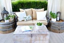 NESTING | Outdoor Living Space