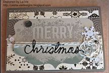Christmas Cards - C'est La-Vie Designs Unlimited, LLC / I am owner/president of C'est La-Vie Designs Unlimited, LLC, a company designed to create custom, one-of-a kind paper crafts. This board showcases my work. For more visit http://cestla-viedesigns.blogspot.com/