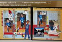 Scrapbook - C'est La-Vie Designs Unlimited, LLC / I am owner/president of C'est La-Vie Designs Unlimited, LLC, a company designed to create custom, one-of-a kind paper crafts. This board showcases my work. For more visit http://cestla-viedesigns.blogspot.com/