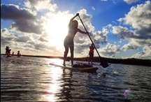 Stand and Paddle - SUP Photos / Cool & Beautiful Photos about Stand Up Paddle Boarding - SUP.  Check out our site at www.StandandPaddle.com / by Stand and Paddle .com